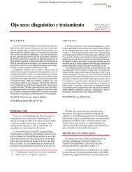 PDF. Ojo Seco: Diagnóstico y Tratamiento