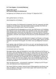 1 Dr. Franz Segbers / Universität Marburg Gegen Rente ab 67. Den ...