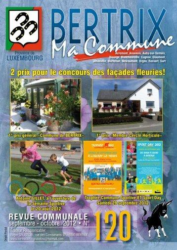 Revue Communale de Bertrix n° 120