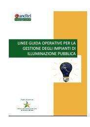 Linee Guida Operative per la gestione degli impianti di ...