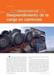 Desprendimiento de la carga en camiones - Centro Zaragoza