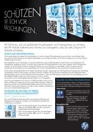 Wie Sie sich vor Fälschungen schützen können. - HORN GmbH