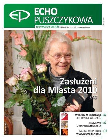Październik 2010 - Puszczykowo, Urząd Miasta