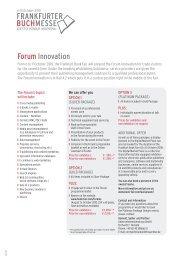 forum innovation - Heinold, Spiller & Partner Unternehmensberatung GmbH