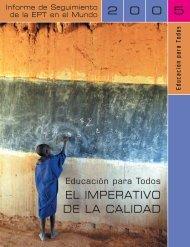 Educación para todos: el imperativo de la calidad - unesdoc - Unesco