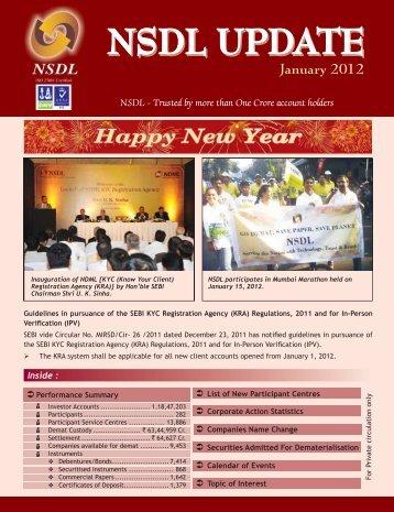 January 2012 - NSDL