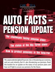 Pension Update - CAW