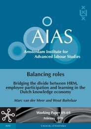 HRM and employee participation - AIAS