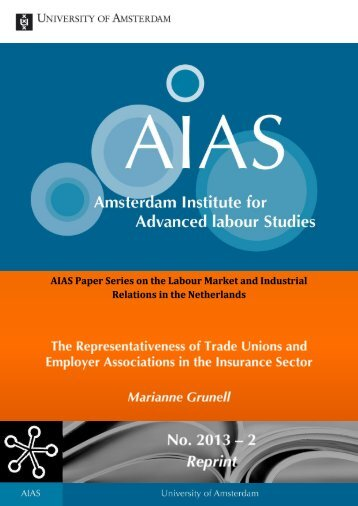 AIAS Paper Series on the Labour Market and Industrial Relations in ...