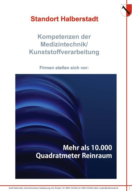 Standort Halberstadt Kompetenzen der Medizintechnik