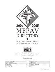 CONTENTS - the Virginia Municipal League