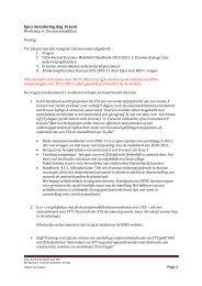 Verslag workshop 4 - Epos