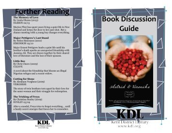 Download a discussion guide for this book