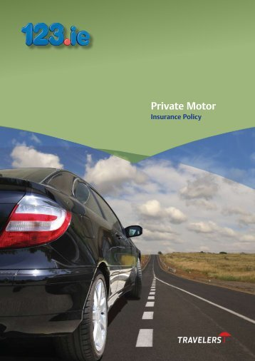 Private Motor Insurance Policy - 123 Ie