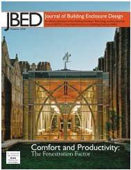 (JBED) - Summer 2006 - The Whole Building Design Guide