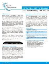 Data Sheet - Aries Telecom