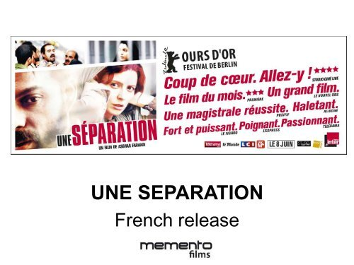 Une Separation Europa Distribution