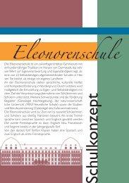 Schulkonzept 2013 - Eleonorenschule Darmstadt