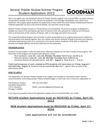 GTS-Application-2012-Form - Chicago Military Academy at Bronzeville