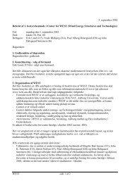 WEST side 1 af 2 3. september 2002 Referat af 1. bestyrelsesmøde i ...