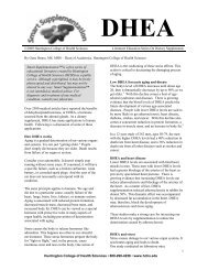 DHEA - Earth Wise Vitamins