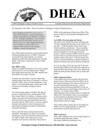 DHEA - Earth Wise Vitamins
