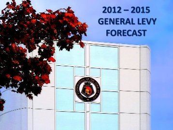 2012-2015 General Levy Forecast Presentation to ... - Town of Ajax