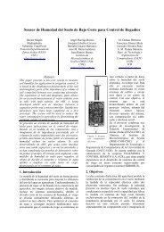 Sensor de Humedad del Suelo de Bajo Coste para ... - Iberchip.net