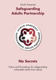 Safeguarding Adults Policy.pdf - North Somerset Council