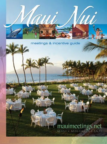 Download PDF - maui meeting planner home page