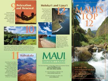 see maui's top 12 attractions - maui meeting planner home page