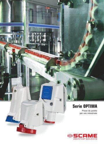 Serie OPTIM A - Scame Parre S.p.A.