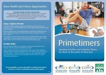 Primetimers - Angel Centre