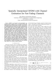 Spatially Interpolated OFDM with Channel Estimation for Fast ...