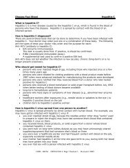 ODH - IDCM HEPATITIS C Page 7/Section 3 Revised 1/2009 ...