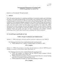 Q4, 10/1/2007 - Lone Star Healthy Streams Program