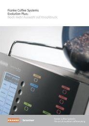 Franke Coffee Systems Evolution Plus: Noch mehr Auswahl auf  ...