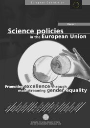 Promoting excellence through mainstreaming gender - Europa