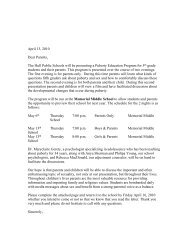 Puberty parent letter.pdf - Town of Hull
