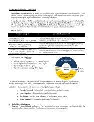 Teacher Evaluation - Southington Public Schools