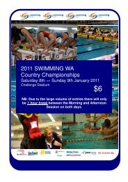 2011 SWA Country Championships program download