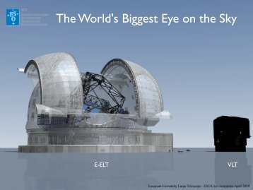 The World's Biggest Eye on the Sky - ESO