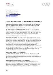 04 DTM Hockenheim Stimmen Qualifying D