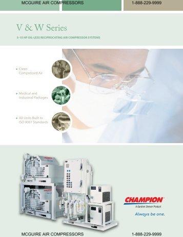 V & W Series - McGuire Air Compressors, Inc