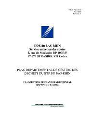 Rapport d'études 2005 - Cellule Économique du Bâtiment et des ...