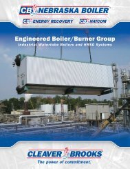 Engineered Boiler/Burner Group - Tundra Process Solutions Ltd.
