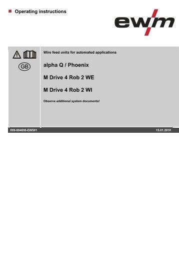 Operating instructions - EWM Hightec Welding GmbH