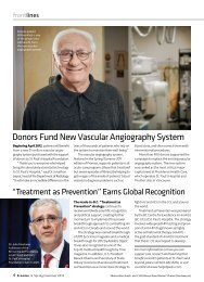 Download the full article - St. Paul's Hospital Foundation