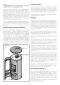 Kaminofen Hark 74 Aufbau- und Bedienungsanleitung - Seite 4
