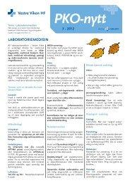 PKO-nytt 3-2012.pdf - Vestre Viken HF